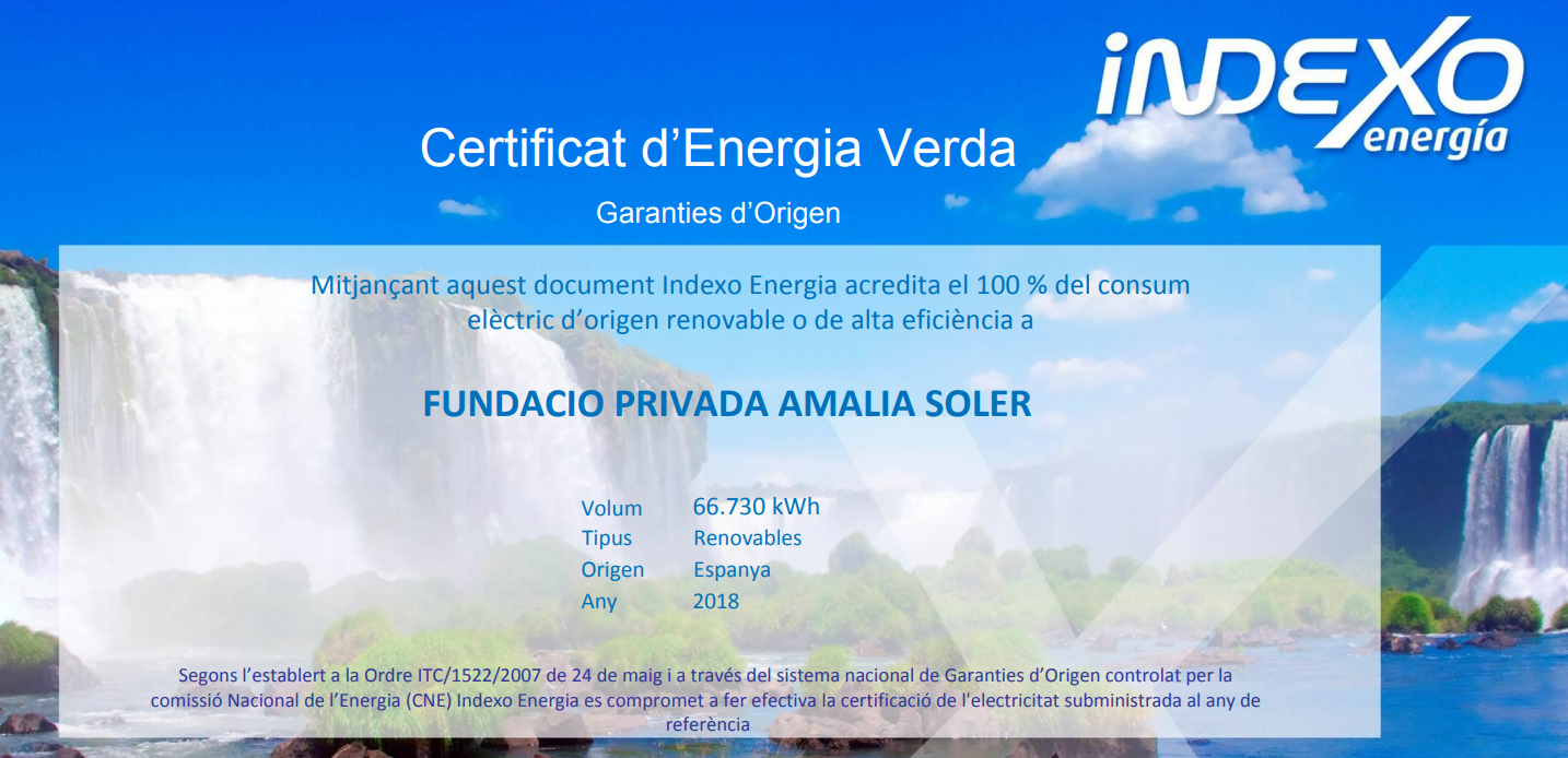 FOtoCertificatEnergiaVerda